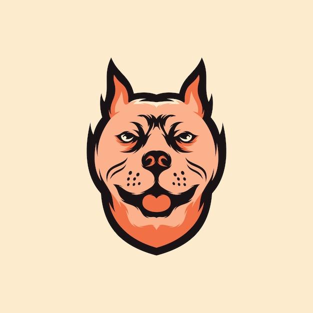 Логотип собаки Premium векторы