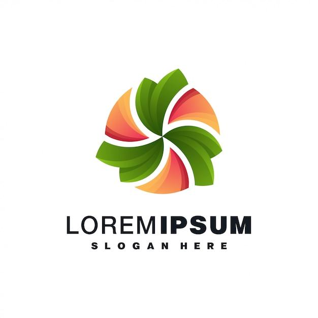 Красочный дизайн логотипа Premium векторы
