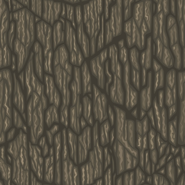 A dark wood cartoon style texture