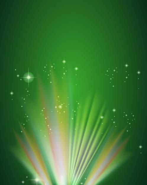 Зеленый шаблон Бесплатные векторы