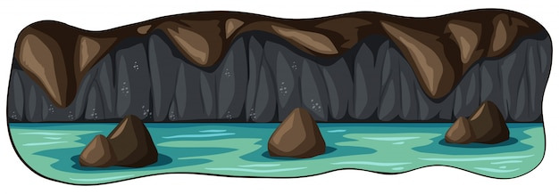 A Scary Underground River Cave