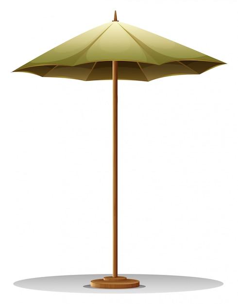 Настольный зонт Бесплатные векторы