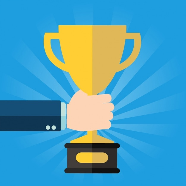 A trophy Free Vector