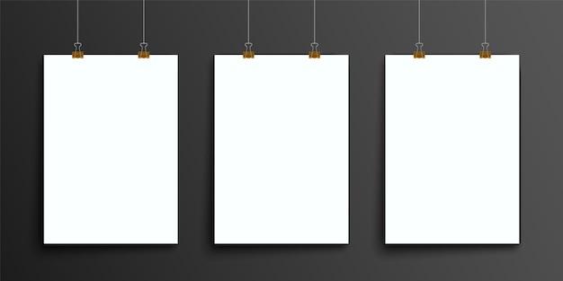 抽象的なバインダーアート、a4パンフレットカバー Premiumベクター