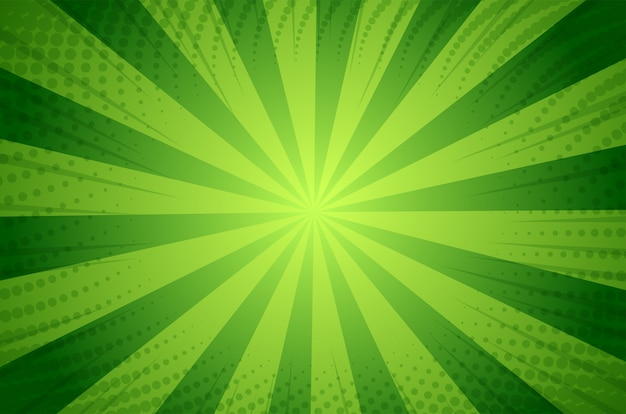 Abstack background cartoon style. bigbamm or sunlight Premium Vector