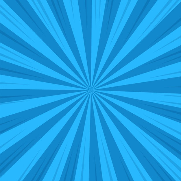 Abstack background cartoon style. ray or sunlight Premium Vector