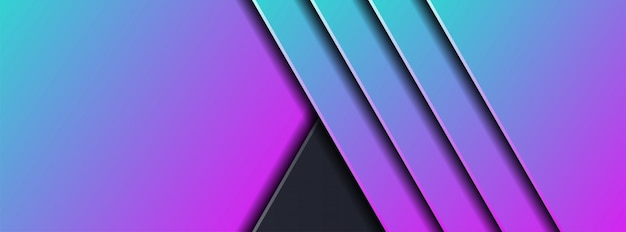 Abstract 3d dark background with geometric shape Premium Vector