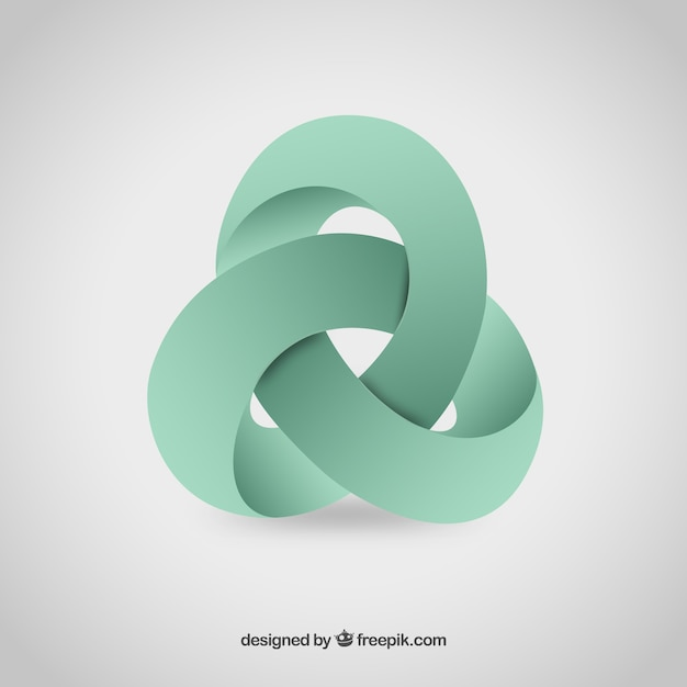 abstract 3d logo vector free download