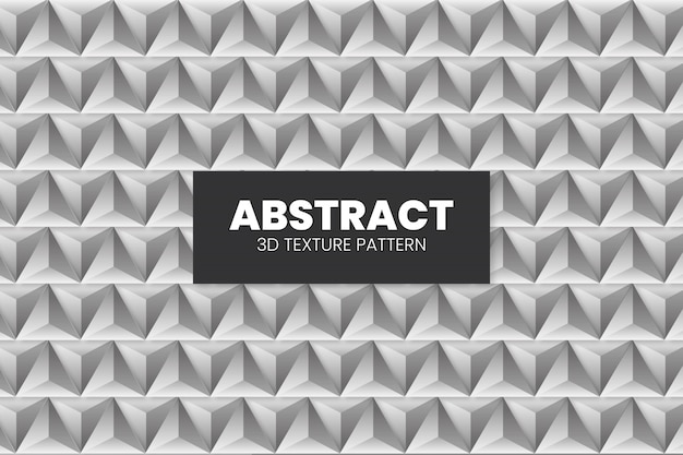 Abstract 3d texture pattern template Free Vector