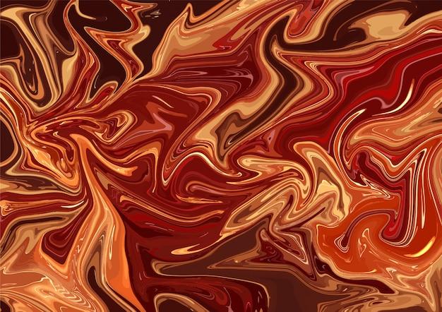 Abstract acrylic flames wallpaper template Premium Vector