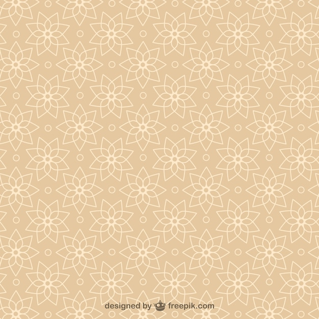 Abstract arabesque background Free Vector
