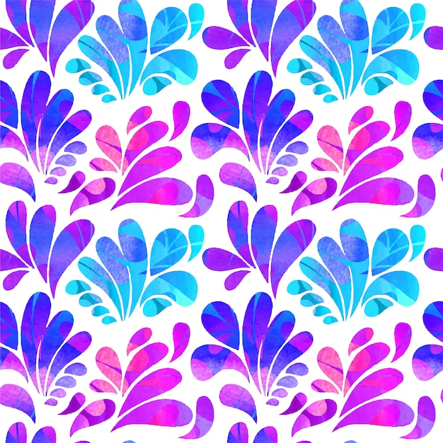 abstract arc drops in purple and blue tones vector free download