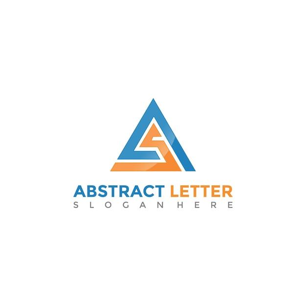 Abstract AS Letter Logo Template. Vector Illustrator Eps. 10 Vector ...