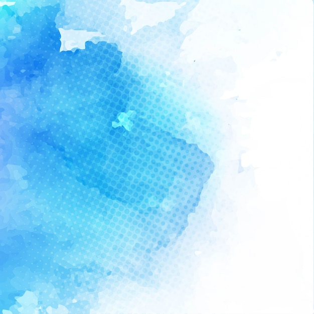 Abstract background, blue watercolor texture