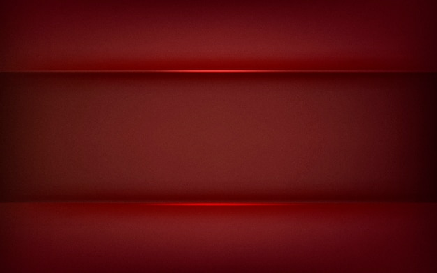 Abstract background design in deep red Free Vector