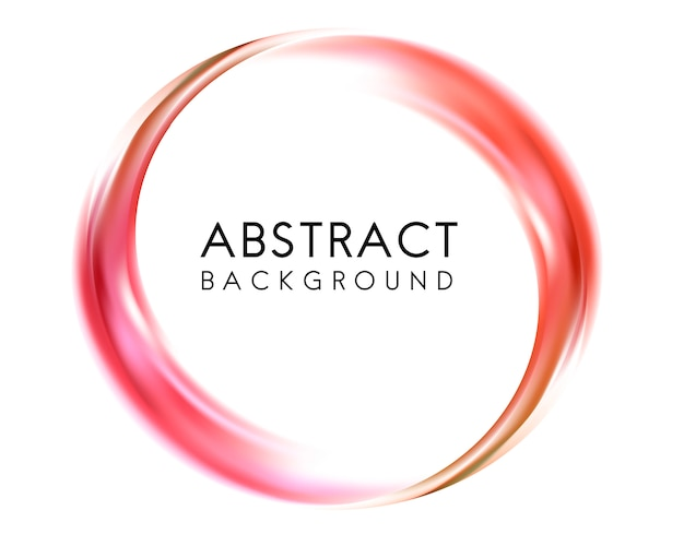 Abstract background design in red Free Vector