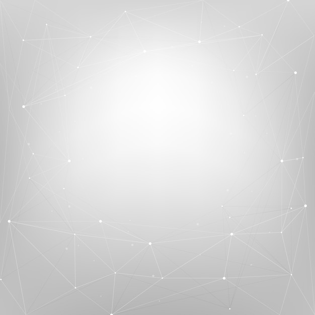 Abstract background design with stars on gray Free Vector