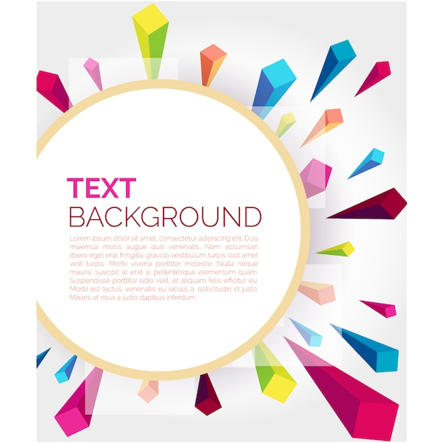 Abstract background design Free Vector