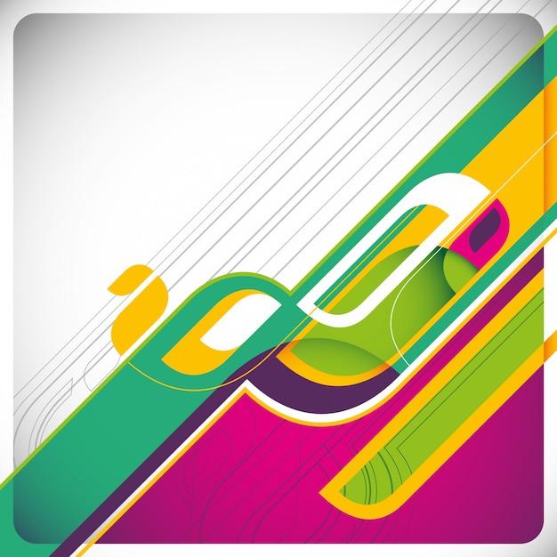 Abstract background design Premium Vector