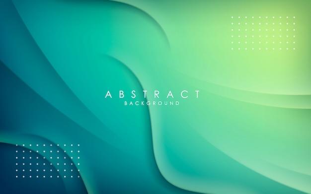 抽象的な背景の動的な形状の装飾。 Premiumベクター