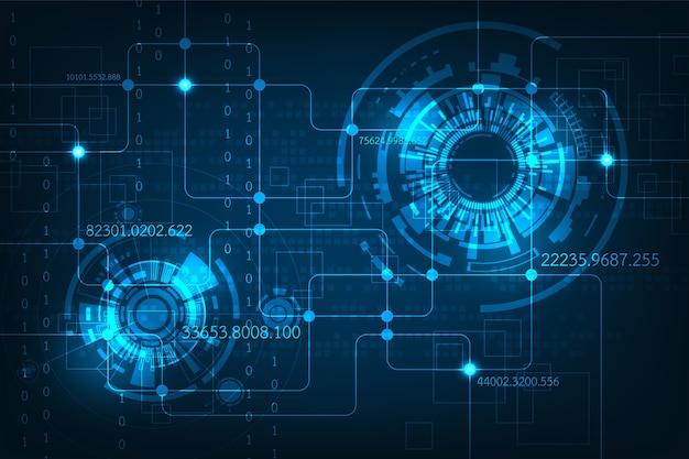 abstract background electronic circuit design vector premium downloadabstract background electronic circuit design premium vector