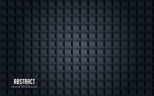 Abstract background geometric black and grey color Premium Vector