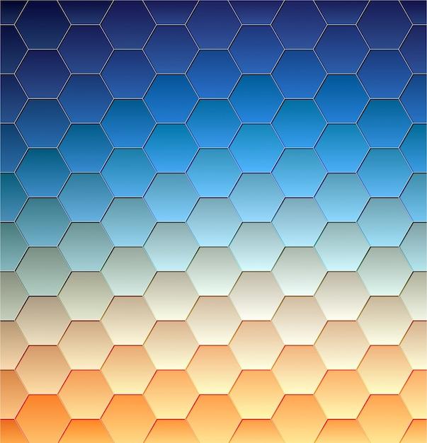 Sfondo astratto, disegno geometrico, illustrazione vettoriale. tesselazione geometrica di superficie colorata. vetrata in vetro. sfocatura di colore astratto. Vettore gratuito