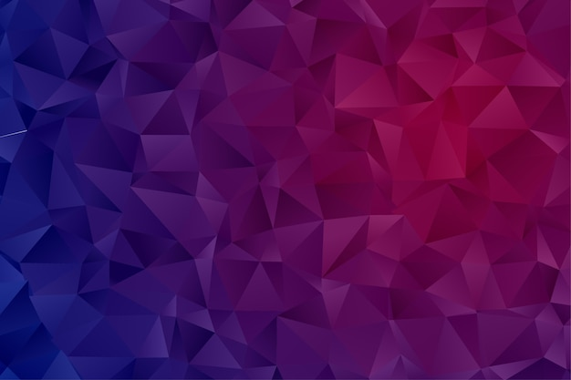Abstract background. geometric pattern. polygon wallpaper Premium Vector