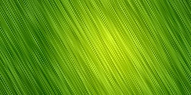 추상적 인 배경 녹색 그라데이션 색상입니다. 스트라이프 라인 벽지 프리미엄 벡터