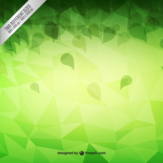 Abstract background in green tones Premium Vector