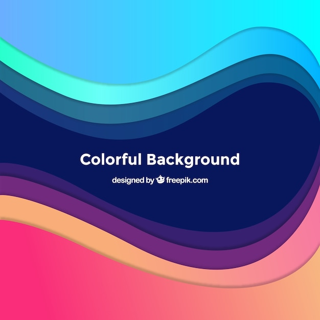 Abstract background in blue, purple and pink tones