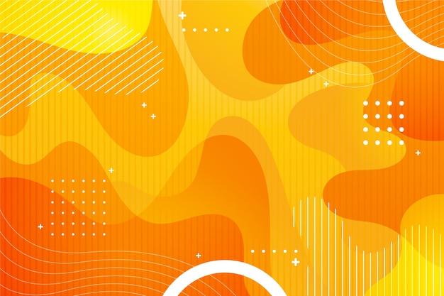 Абстрактный фон в жидком стиле Premium векторы