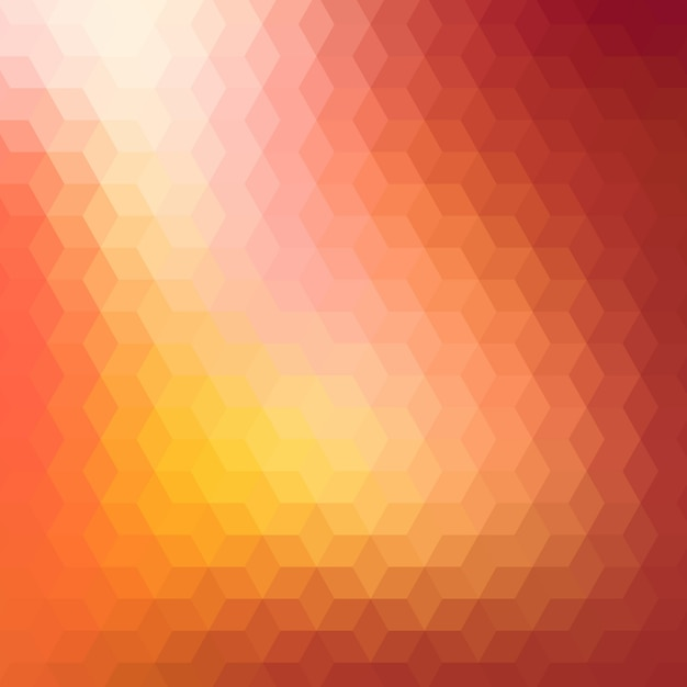 Abstract background in orange tones