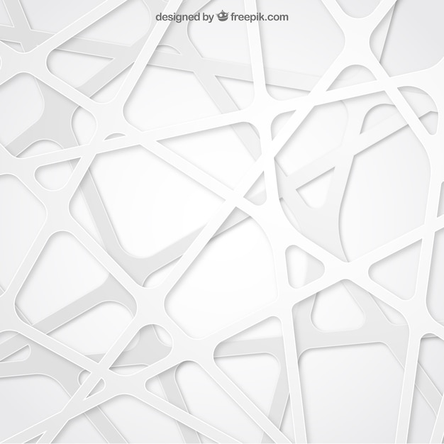 Abstract background in white color Free Vector