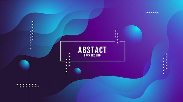 Abstract background, liquid ,fluid Premium Vector