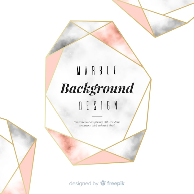 Abstract background in marble design Free Vector