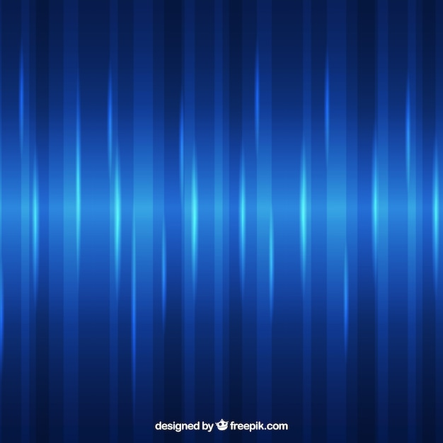 Abstract background of bright blue lines