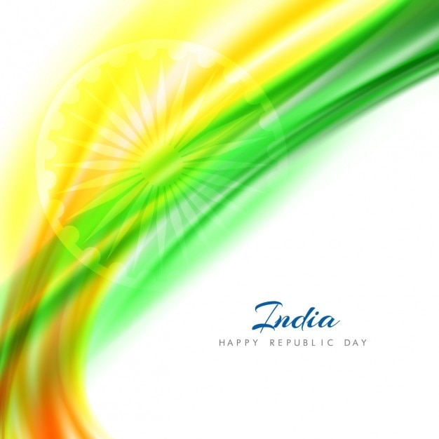 Abstract background of indian republic day
