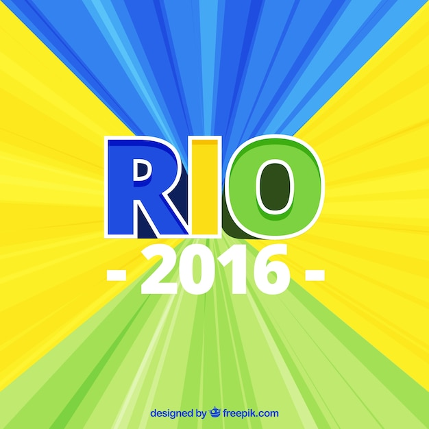 Abstract background of  rio 2016