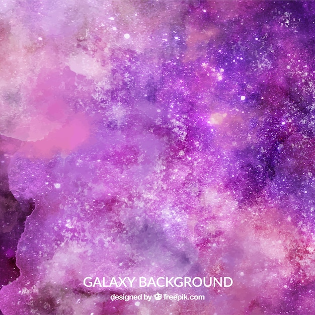 Abstract background of watercolor stars