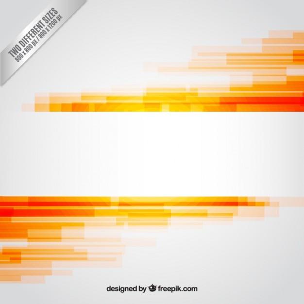 Abstract Background In Orange Tones Vector Free Download