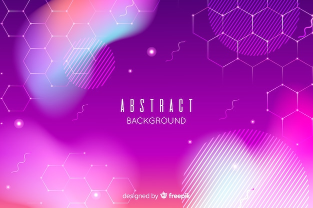 Abstract background in purple tones Free Vector