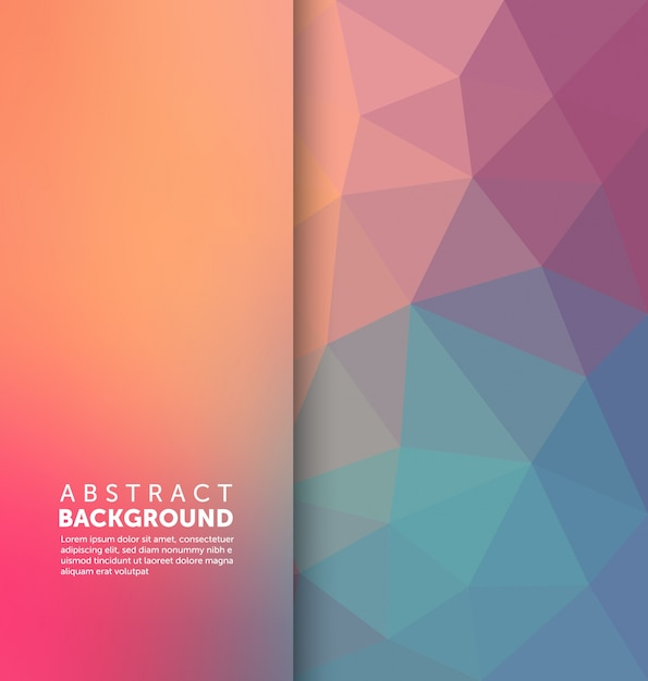 abstract background template vector free download