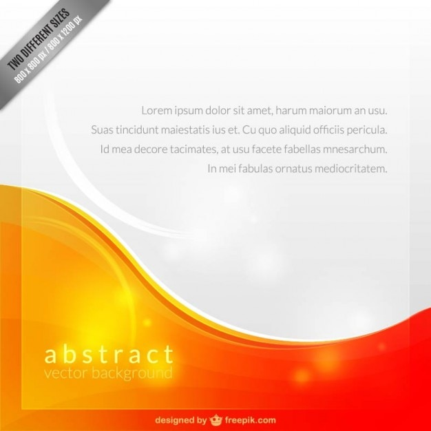 Abstract Background Template