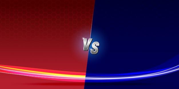 Abstract background versus screen  fighting Premium Vector