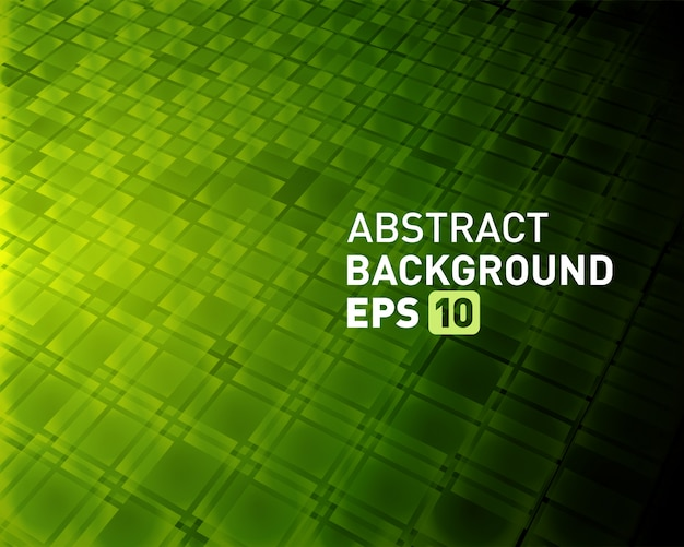 Abstract background virtual reality 3d space squares shapes Premium Vector