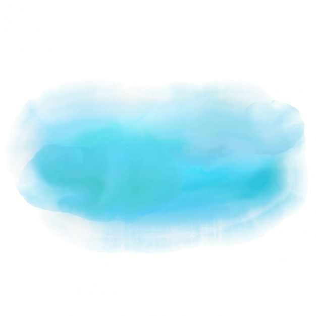 Abstract background with a blue watercolor design