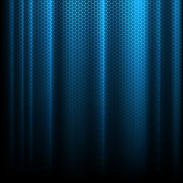 Abstract background with a techno design