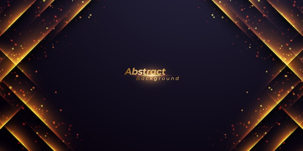 Abstract background with abstract diagonal shining lines. Premium Vector