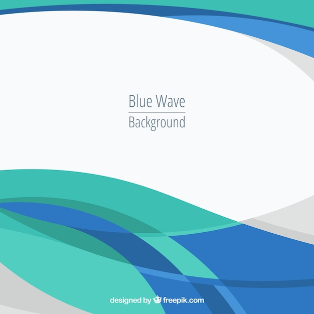 Curved lines vectors photos and psd files free download abstract background with blue waves altavistaventures Image collections